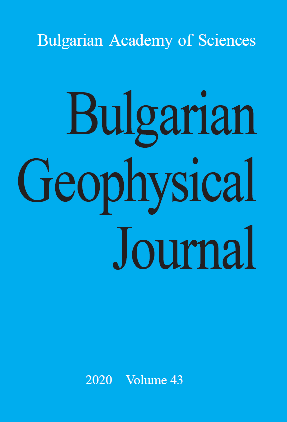 Bulgarian Geophysical Journal. National Institute in Geophysics, Geodesy and Geography. Bulgarian Academy of Sciences